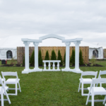 Venue decor for Heritage Gardens